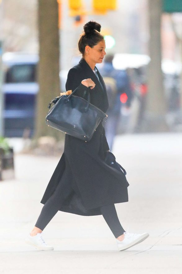 Katie Holmes - Running errands in New York City