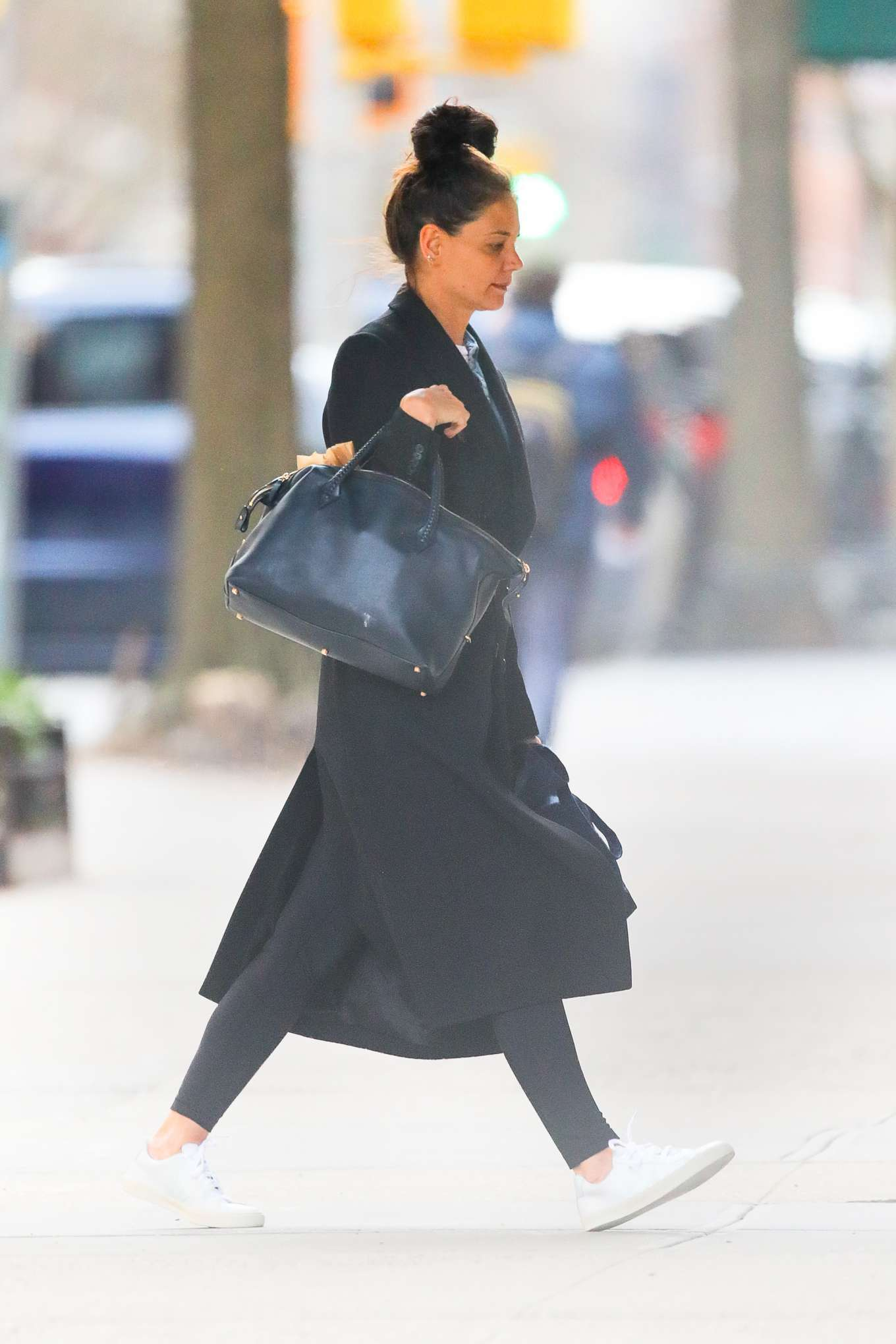 Katie Holmes - Running errands in New York City