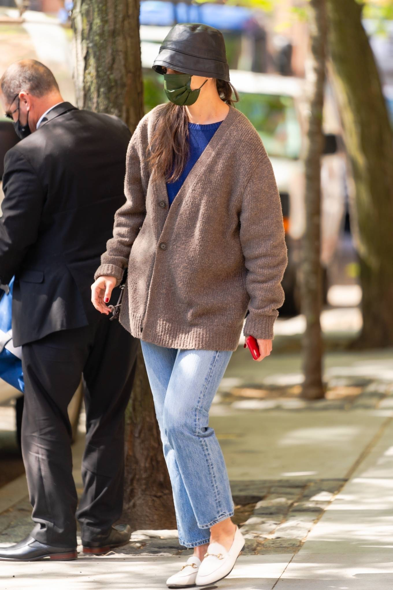 Katie Holmes - Seen before jetting out of New York City