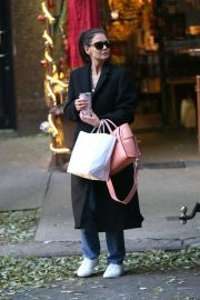 Katie Holmes - Shopping at Scent Elate in NYC