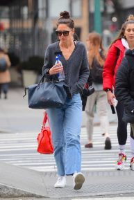 Katie Holmes - Spotted out in Soho, New York