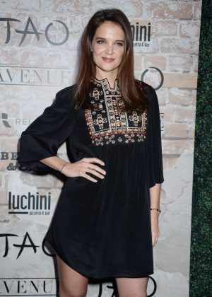 Katie Holmes - TAO Group LA Grand Opening Block Party in Hollywood