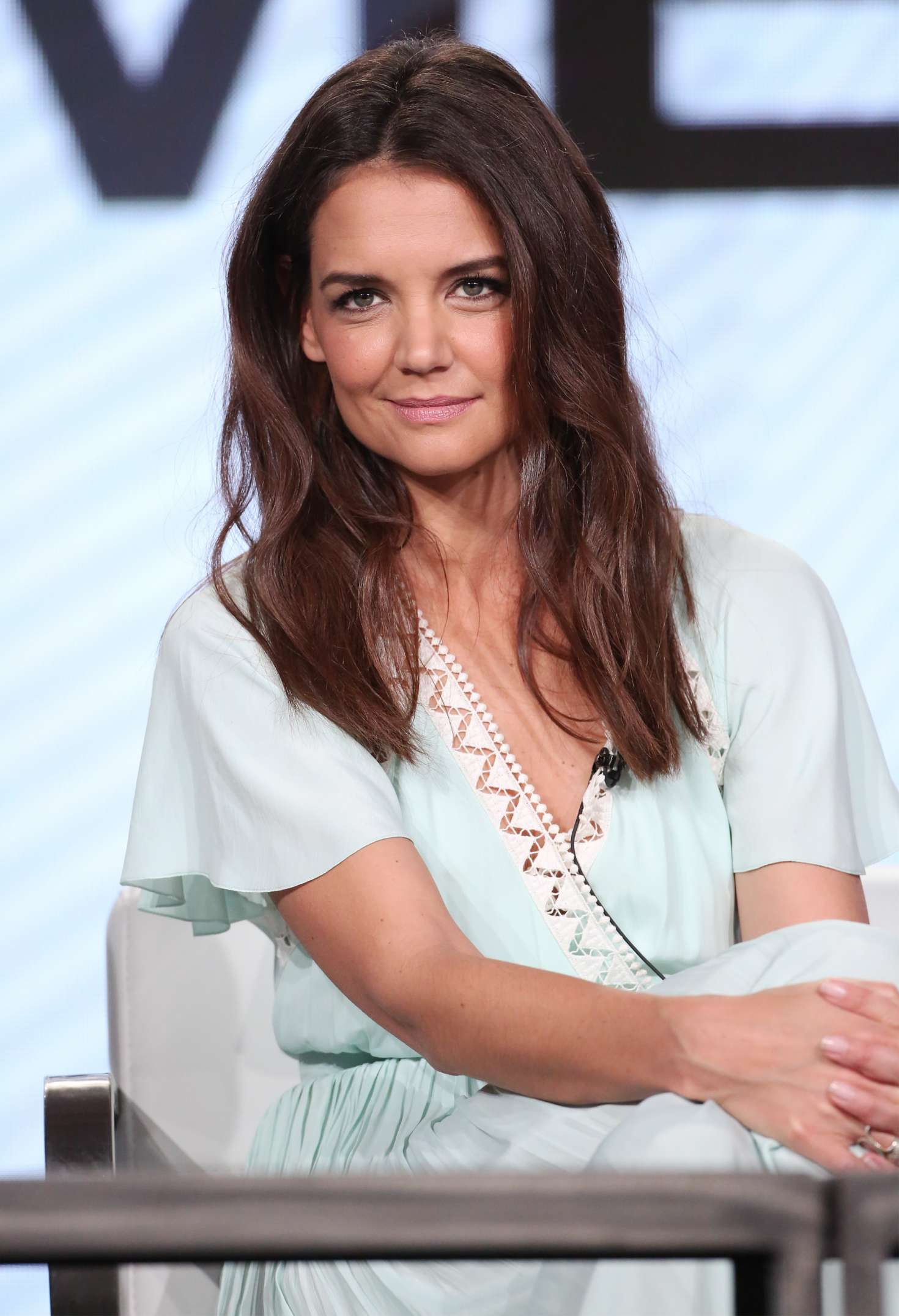Katie Holmes The Kennedys After Camelot Panel At Tca