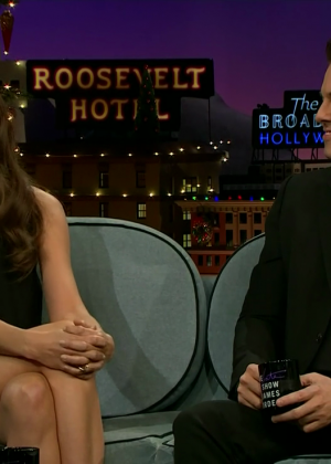 Katie Holmes - The Late Late Show with James Corden in LA