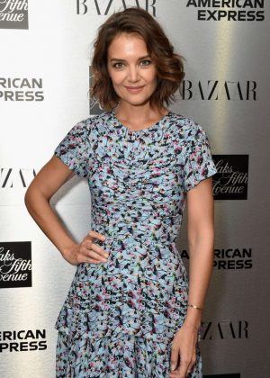 Katie Holmes -The Launch Of The Saks IT List Townhouse in NYC