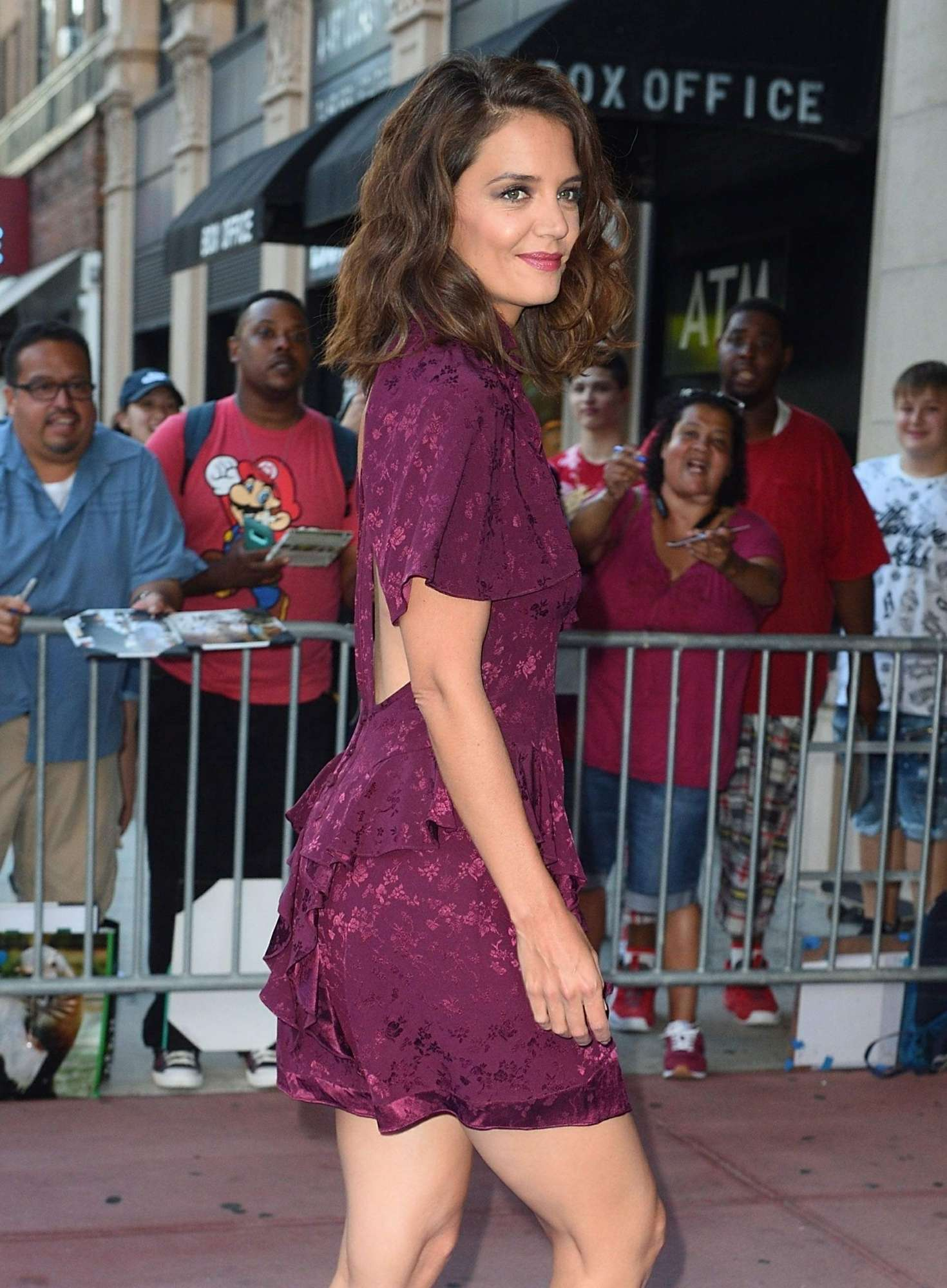 Katie Holmes - 'The Tick' Premiere in NYC