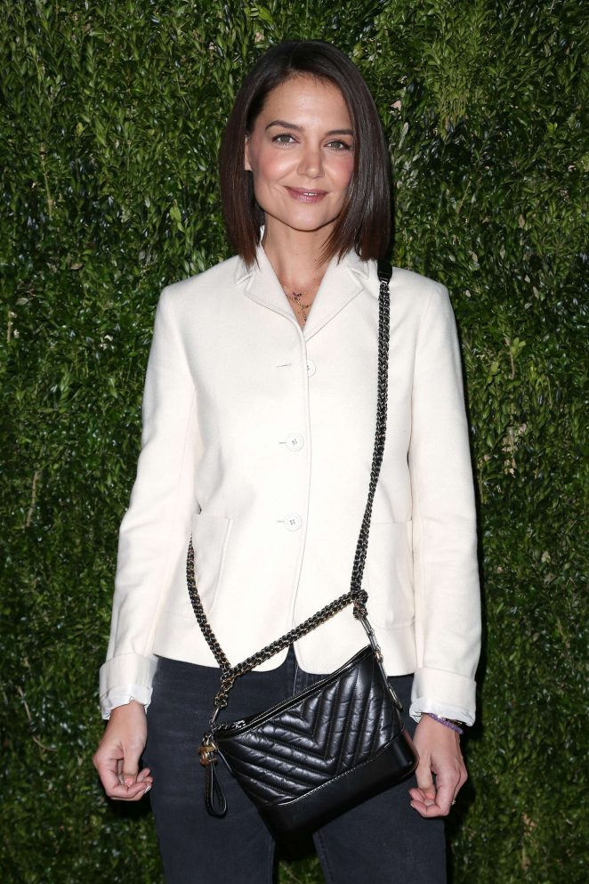 Katie Holmes - Through Her Lens The Tribeca Chanel Women's Filmmaker Program Celebration in NY