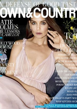Katie Holmes - Town Country US Magazine (April 2017)