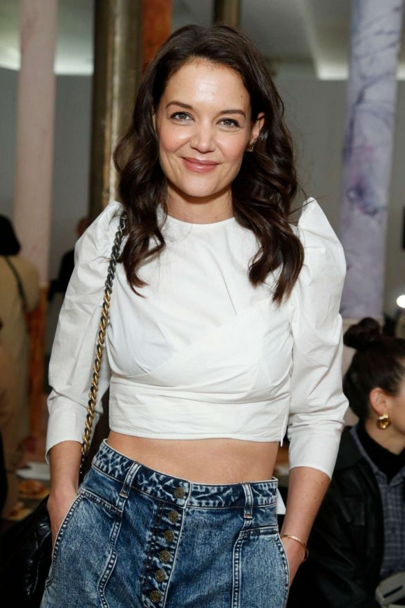 Katie Holmes - Ulla Johnson show at 2020 New York Fashion Week