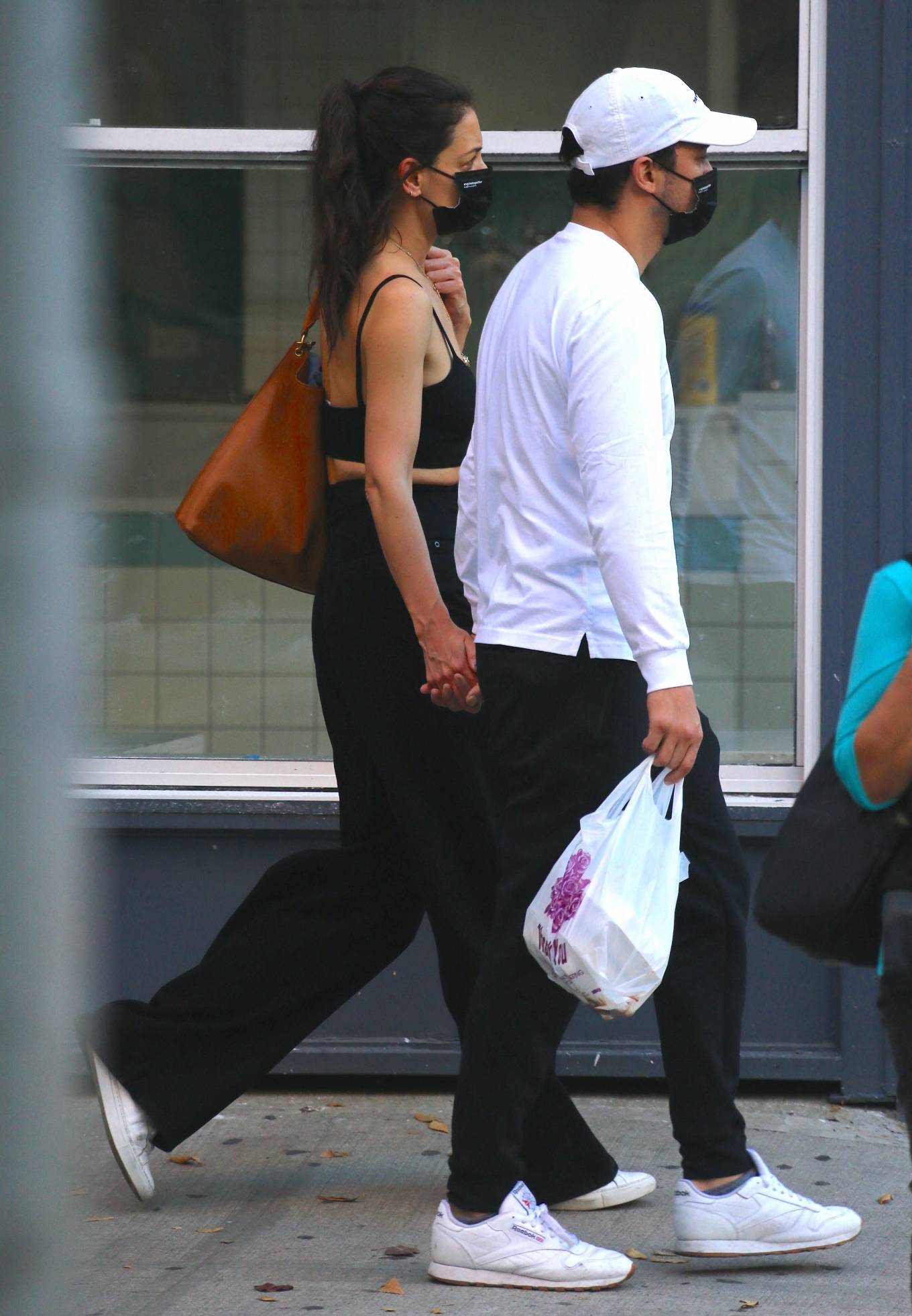 Katie Holmes with boyfriend seen out in New York
