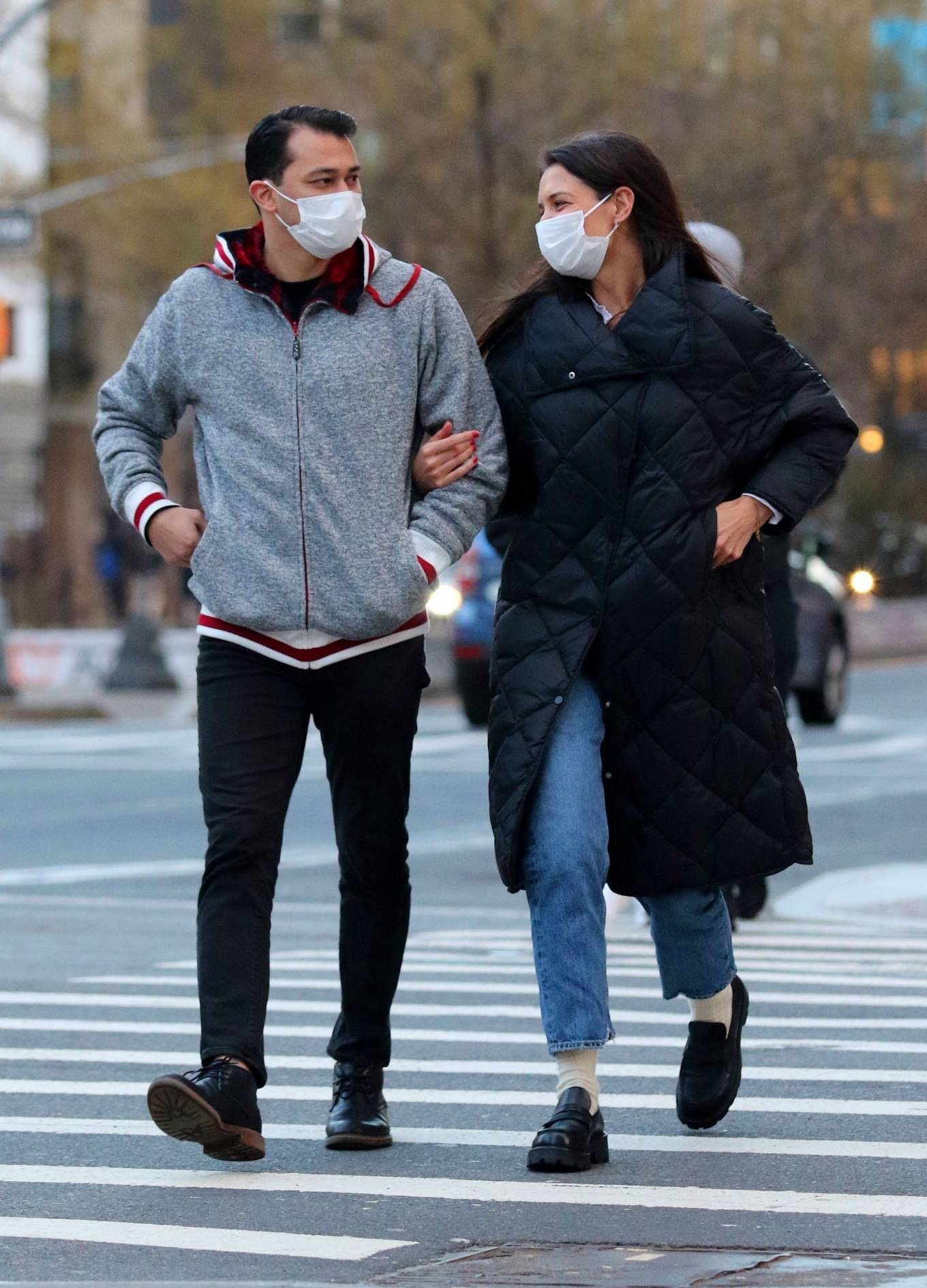 Katie Holmes - With her boyfriend Emilio Vitolo Jr. in Manhattan's Soho neighborhood