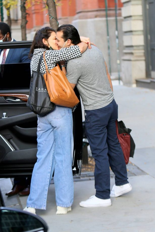 Katie Holmes - With her boyfriend Emilio Vitolo Jr. in New York
