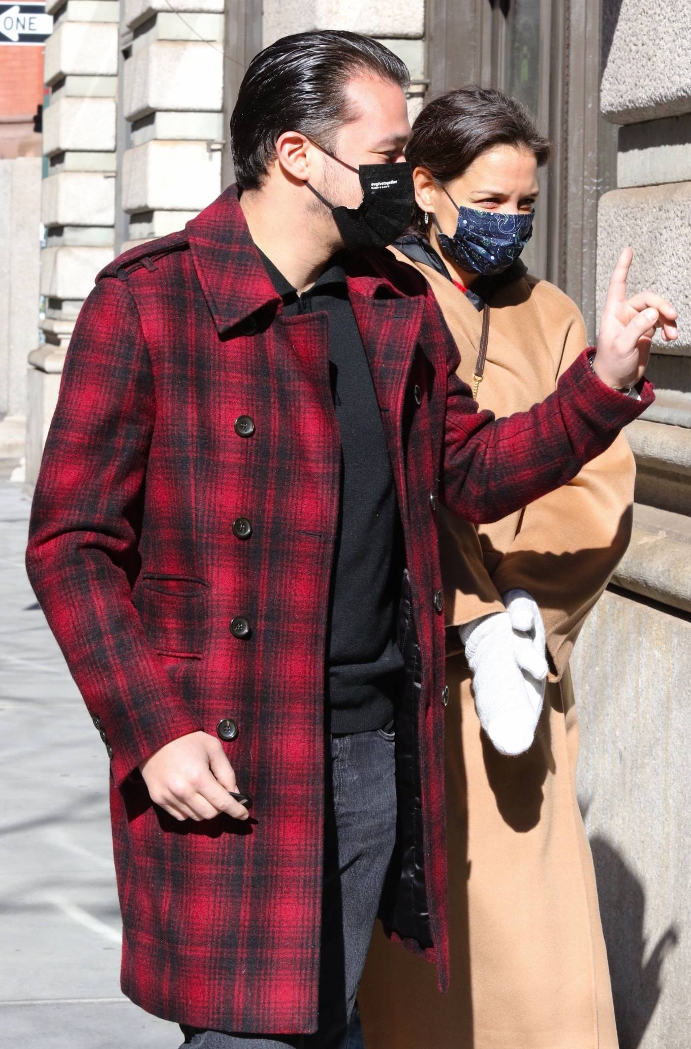Katie Holmes 2021 : Katie Holmes – With her boyfriend out in Manhattan's Soho area-09