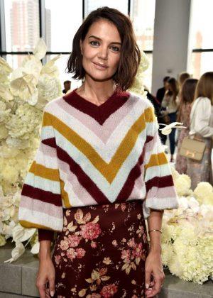 Katie Holmes - Zimmermann Fashion Show in NYC