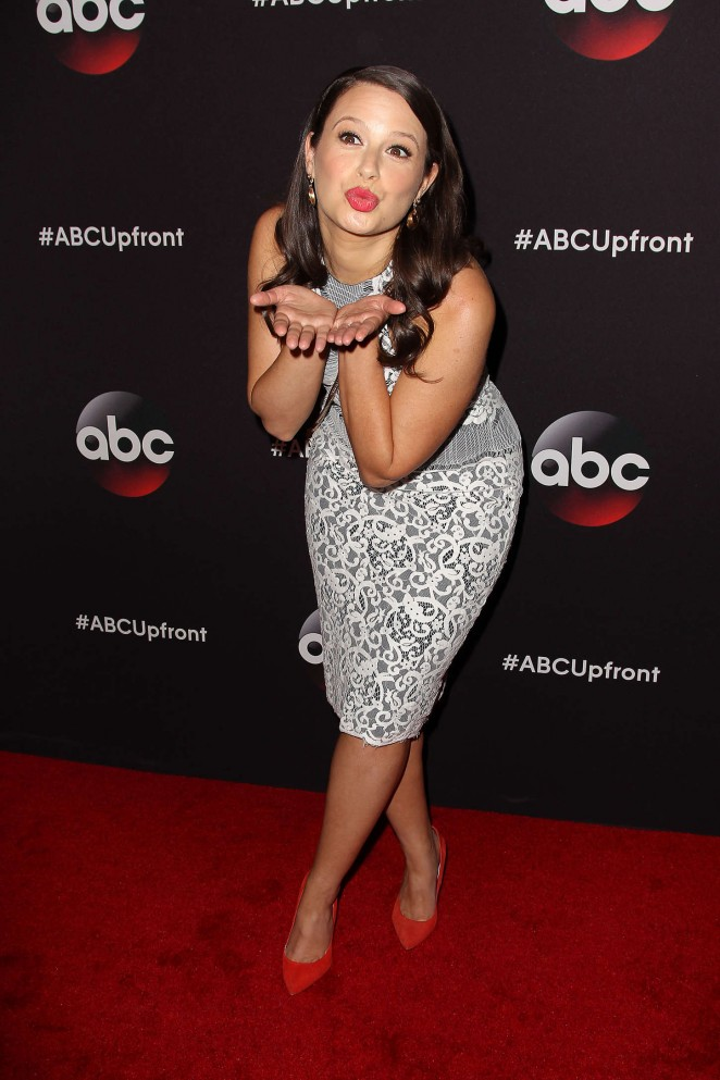 Katie Lowes - 2015 ABC Upfront in NYC