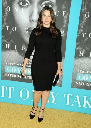 Katie Lowes - 'Confirmation' Premiere in Hollywood