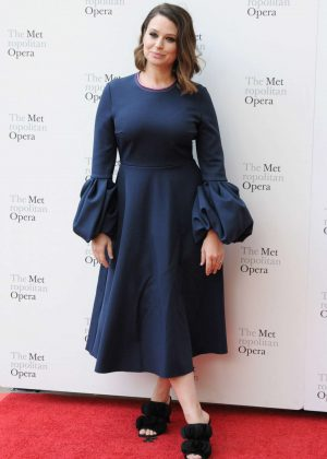 Katie Lowes - Metropolitan Opera Opening Night Gala in New York