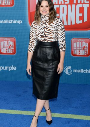 Katie Lowes - 'Ralph Breaks the Internet' Premiere in Hollywood