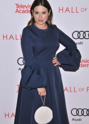 Katie Lowes - Television Academy 2017 Hall of Fame Induction Ceremony in LA