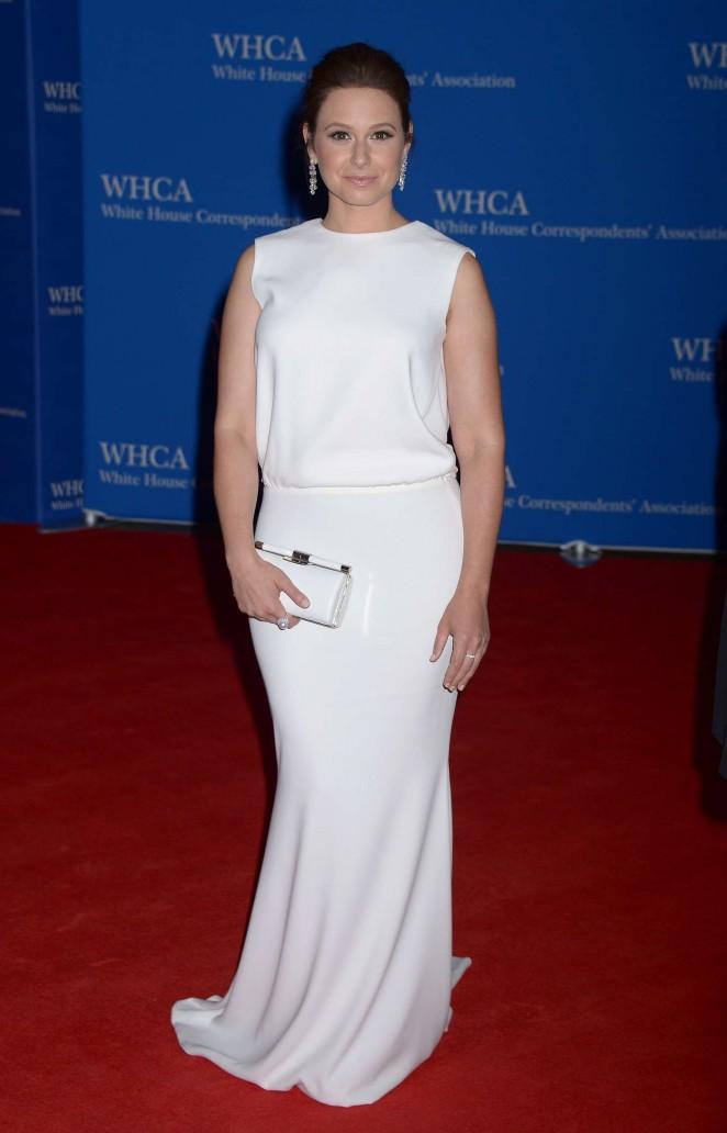 Katie Lowes - White House Correspondents Dinner in Washington