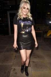 Katie McGlynn - Arrives at Impossible Bar in Manchester