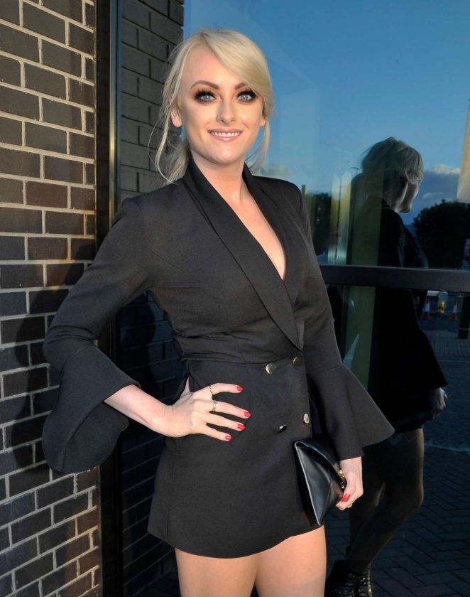 Katie Mcglynn at Charity event in Manchester