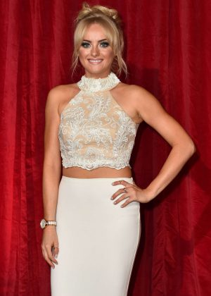 Katie McGlynn - British Soap Awards 2016 in London