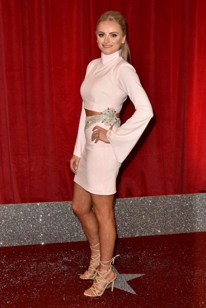 Katie McGlynn - British Soap Awards 2017 in Manchester