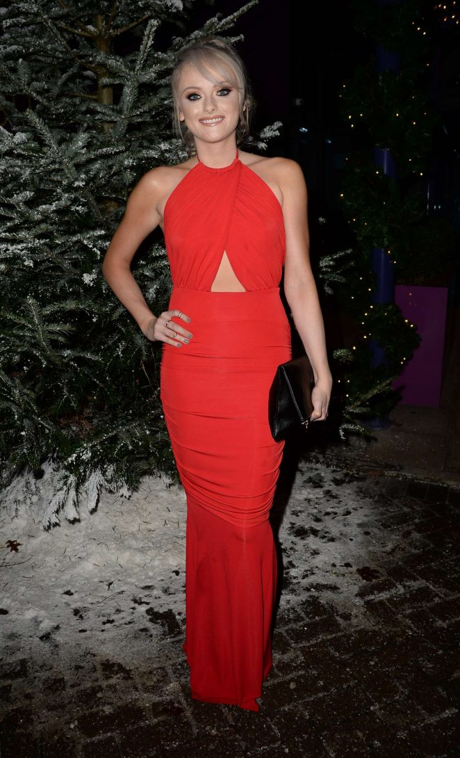 Katie McGlynn - GEM Appeal Winter Ball in Manchester