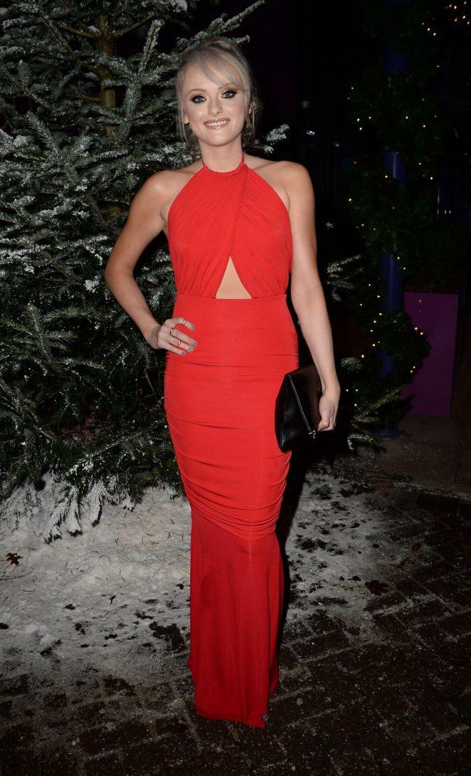 Katie McGlynn - GEM Appeal Winter Ball in Manchester