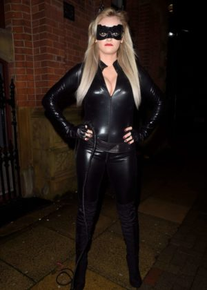 Katie McGlynn - Halloween Party in Manchester