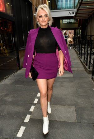 Katie McGlynn - Heads out celebrating her birthday at BLVD in Manchester
