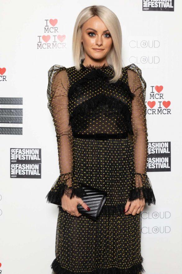 Katie McGlynn - Manchester Fashion Festival in Manchester