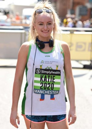 Katie McGlynn - Simplyhealth Great Manchester 10k Run in Manchester