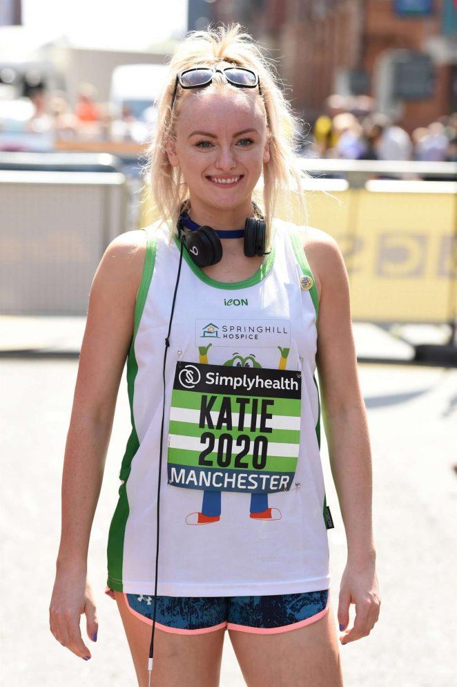 Katie McGlynn - Simplyhealth Great Manchester 10k Run in Manchester