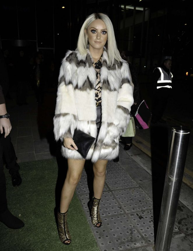 Katie McGlynn - The Ivy Spinningfield's VIP Launch Party in Manchester