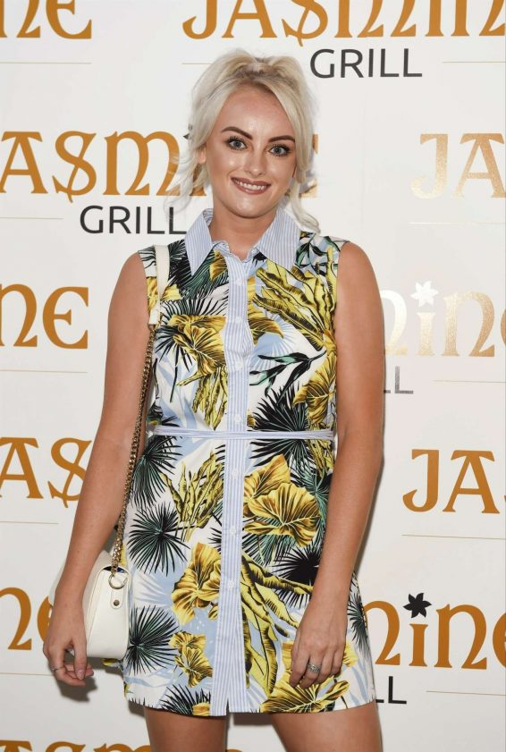 Katie McGlynn - The Jasmine Grill Launch in Manchester