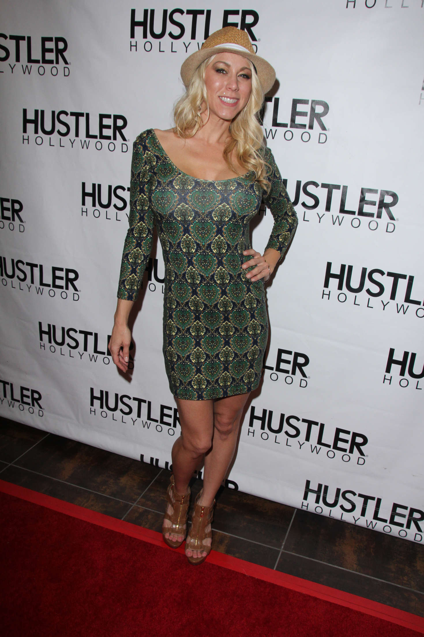 Katie Morgan Opening Of The New Hustler 02 Gotceleb