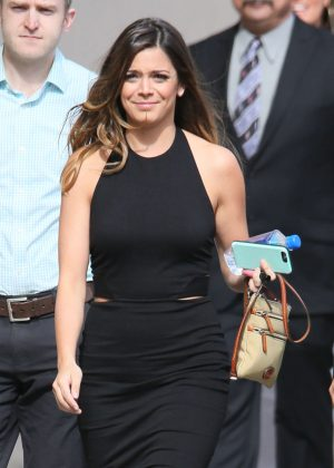 Katie Nolan - Arriving at Jimmy Kimmel Live in Los Angeles