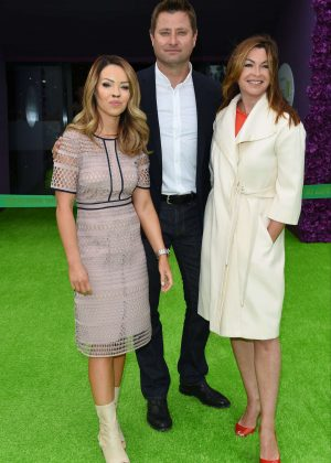 Katie Piper and Suzi Perry - Hope and Homes For Children: End The Silence Gala Dinner in London