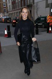 Katie Piper - Arriving at BBC Studio in London