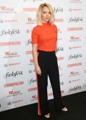 Katie Piper - Cosmopolitan #Fashfest 2016 VIP Show and Party in London