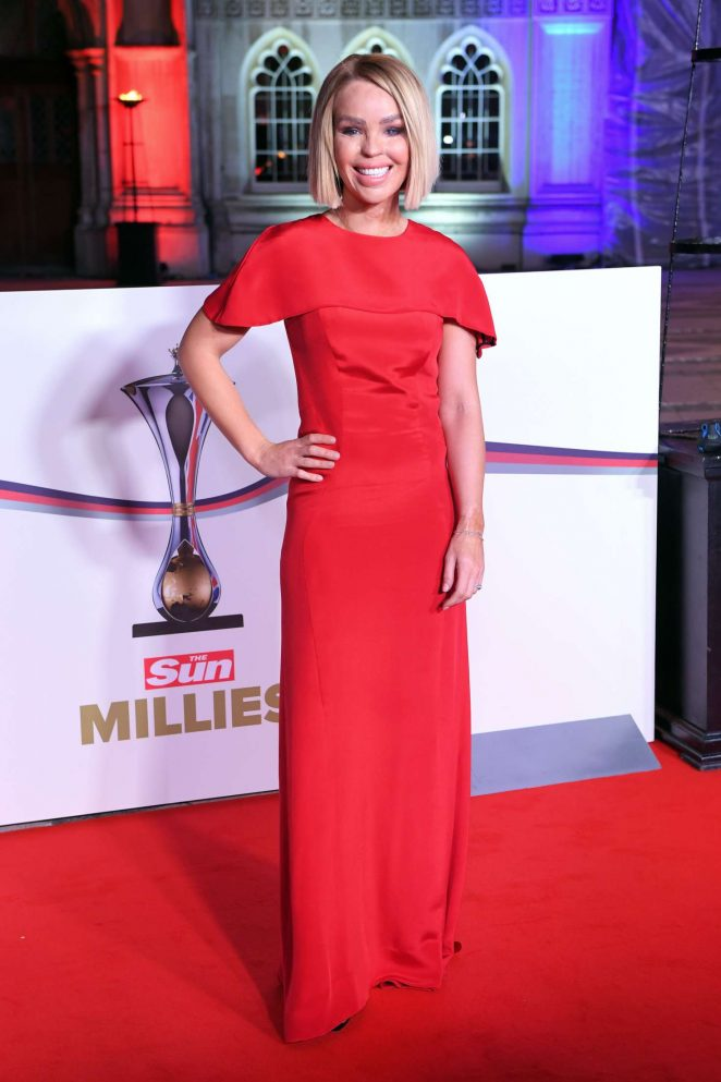 Katie Piper - The Millies Guildhall in London
