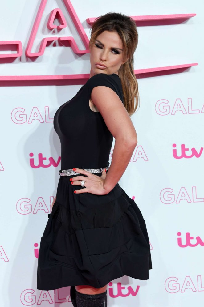 Katie Price – 2016 ITV Gala in London