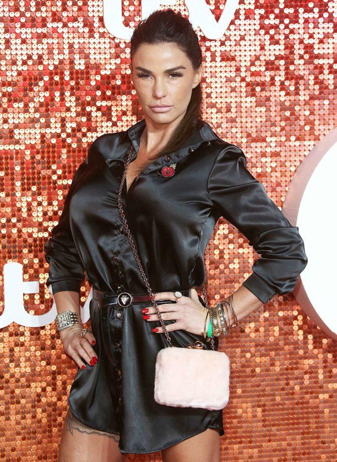 Katie Price – 2017 ITV Gala Ball in London