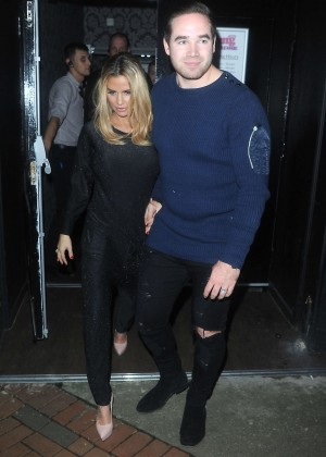 Katie Price and Kieran Hayler at OMG Gay Nightclub in Sheffield