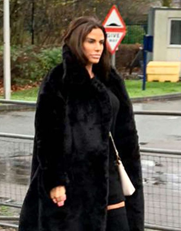 Katie Price - Arrives at Woolwich Crown Court in London