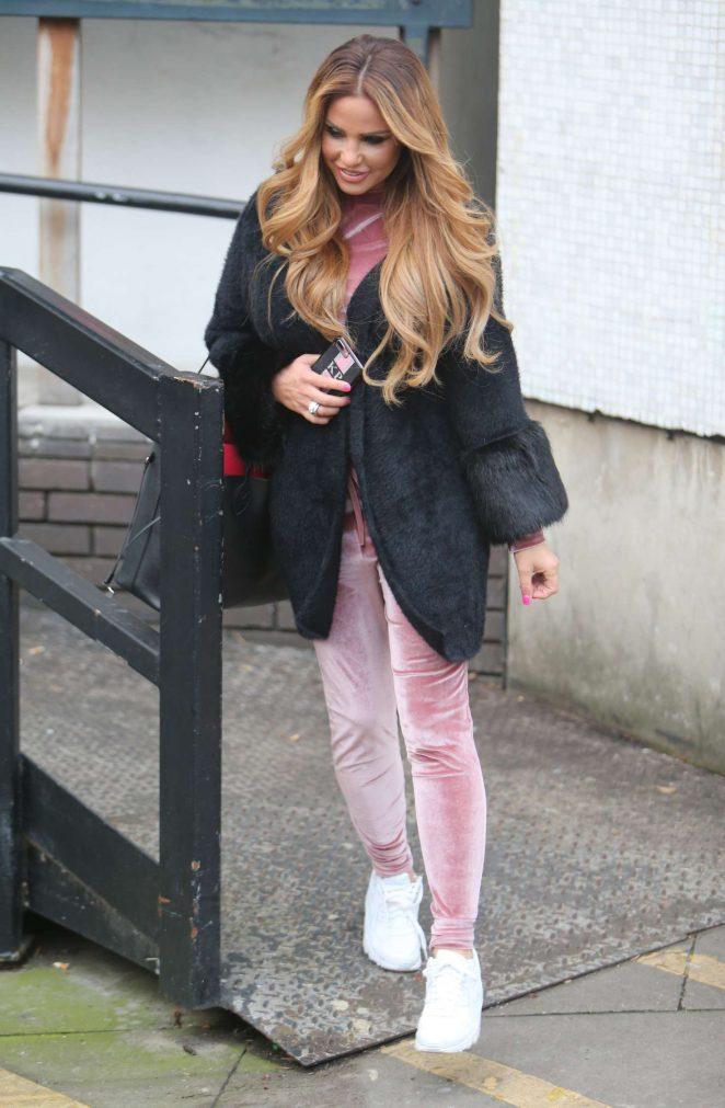 Katie Price at ITV Studios in London