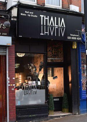 Katie price at nail salon in london - Nail salons in london ...