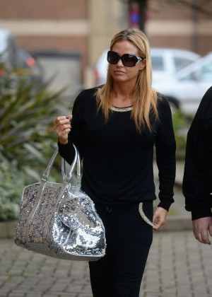 Katie Price at the New Victoria Theatre in London